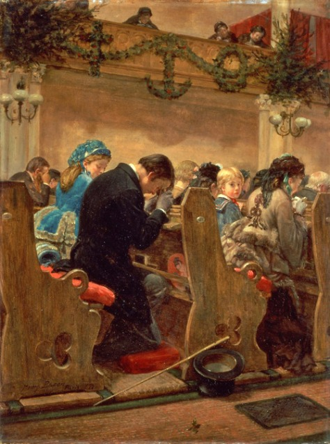 Christmas Prayers by Henry Bacon c. 1872