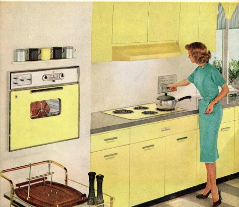 1960 Kitchen General Electric