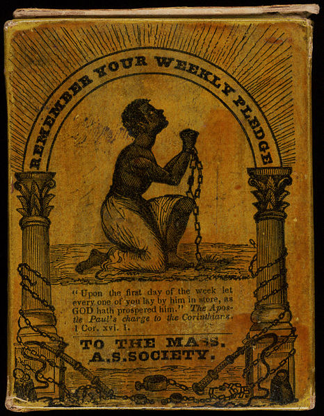 466px-Remember_Your_Weekly_Pledge_Massachusetts_Anti-Slavey_Society_collection_box