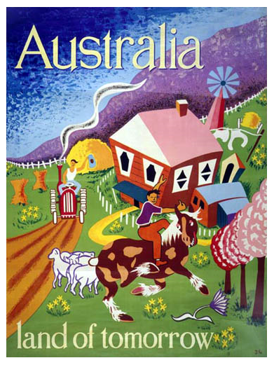 Australian immigrantion poster 1948