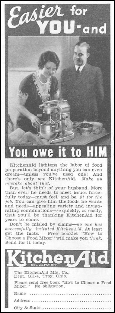Sexist KitchenAid ad is sexist.