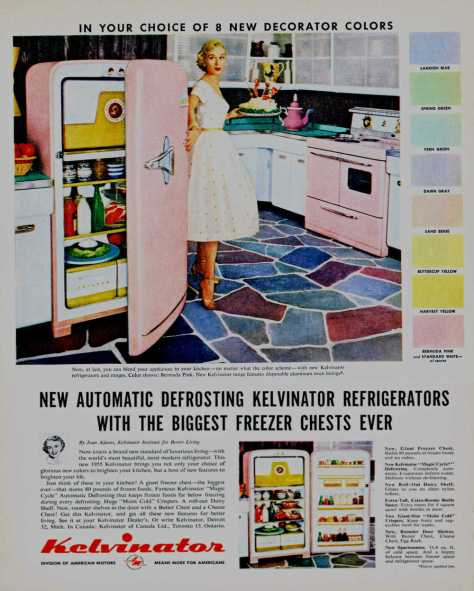 The Kelvinator, 1955.