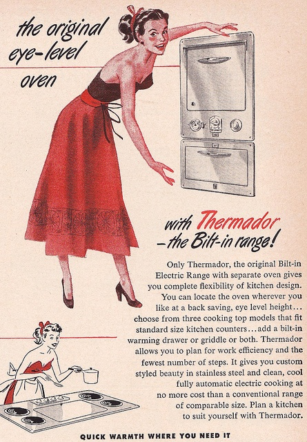 Thermador Ad 1952Thermador. BuiltThermadorin oven