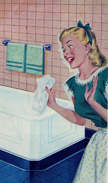 vintage housewife 1940s 1950s
