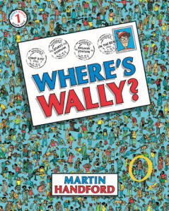 Where's wally Original Book Cover 1987