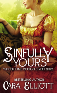 Sinfully Yours by Cara Elliott