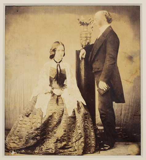 Mr and Mrs Benn 1860s Australia Photograph