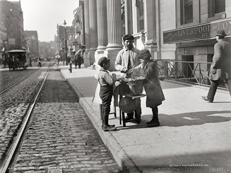 1905 Peanut Stand New York City
