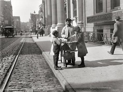 1905 Peanut Stand New York City