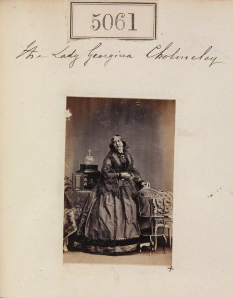 NPG Ax55066; Lady Georgiana Cholmeley (nÈe Beauclerk) by Camille Silvy