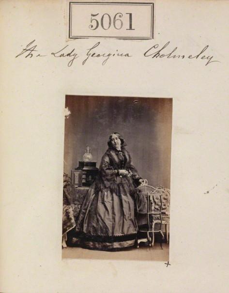 NPG Ax55066; Lady Georgiana Cholmeley (nÈe Beauclerk) by Camille Silvy
