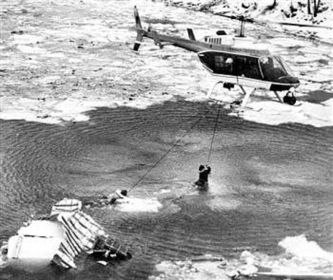 Air Florida Flight 90 rescue 1982