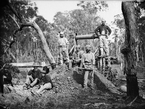 Goldmining+in+the+1870s+at+Gulgong
