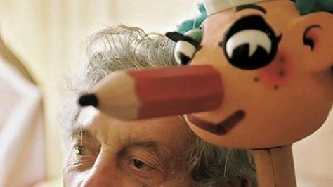 Norman Hetherington (29 May 1921 – 6 December 2010) and Mr. Squiggle (1 July 1959 – 9 July 1999)