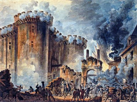 Prise_de_la_Bastille.jpgStorming of the Bastille, July 14, 1789, an iconic event of the French Revolution.