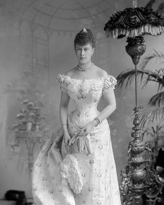 Victoria_Mary_of_Teck.jpgPrincess Victoria Mary shortly before her marriage to the Duke of York in 1893