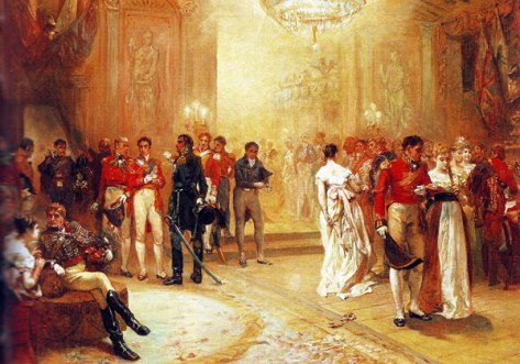 15th June 1815 The Duchess of Richmond's Ball took place three days before the Battle of Waterloo.