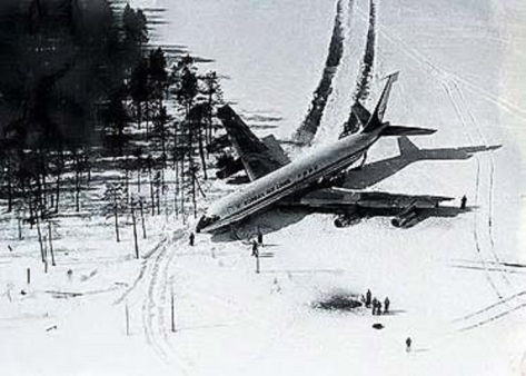 Korean Air Lines Flight 902. Shot down by the Soviet Union on the 20th April, 1978.