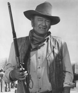 John Wayne In The Undefeated