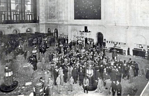 New York Stock Exchange 19 March 1908