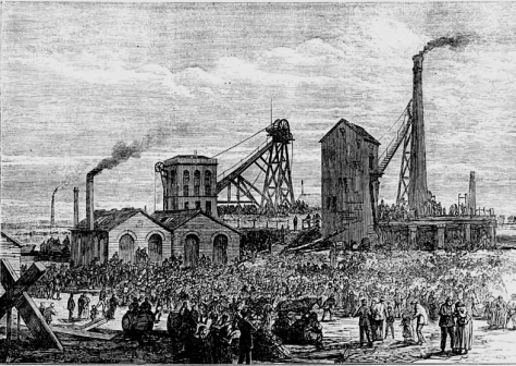 The Astley Deep Pit Disaster was a mining accident at the Astley Deep Pit, in Dukinfield, Cheshire, England,[1] that took place on 14 April 1874.