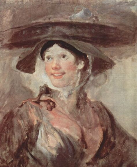 The Shrimp Girl by William Hogarth. 1740-45.