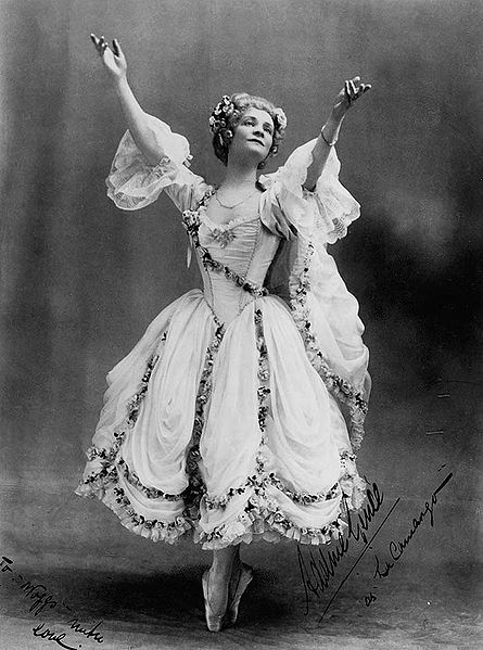 Adeline_Genée in Camargo. Sydney, 1912.