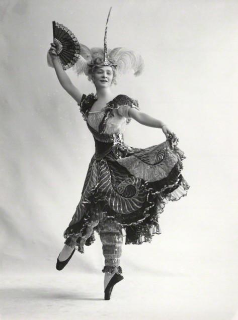 NPG x19368; Dame Adeline GenÈe by Bassano