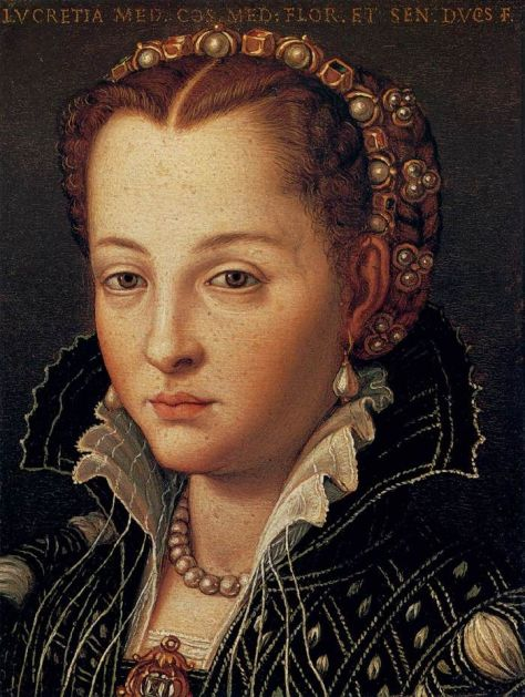 Lucrezia di Cosimo by Agnolo Bronzino, c. 1555-65.