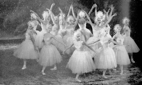 Snowflake Waltz NYC Ballet 1954