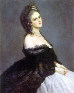 Contessa_di_Castiglione.Virginia Oldoini, Countess of Castiglione (22 March 1837 – 28 November 1899), better known as La Castiglione, was born to an aristocratic family from La Spezia.