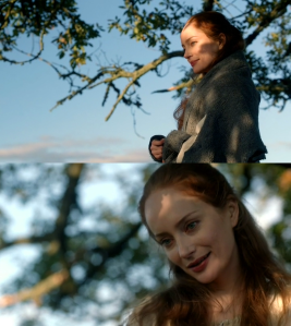 Lotte Verbeek as Geillis Duncan Outlander Season One Episode Two