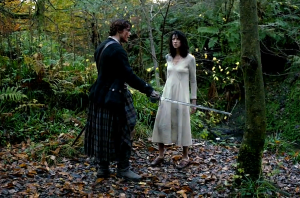 Outlander Episode One Jamie and Claire Sonya Heaney