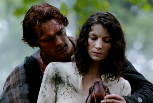 Outlander Starz Jamie and Claire Episode One Sonya Heaney -