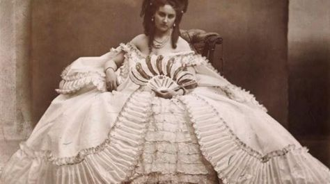 Virginia Oldoini, Countess of Castiglione (22 March 1837 – 28 November 1899), better known as La Castiglione, was born to an aristocratic family from La Spezia. She was a 19th-century Italian aristocrat who achieved n