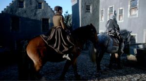 Claire horse Outlander 1x03