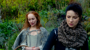 Geillis and Claire Outlander 1x03 - Copy