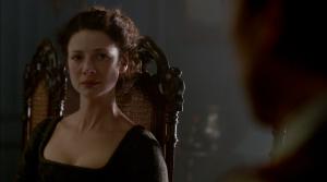 Outlander 1x06 The Garrison Commander Claire Sonya Heaney Sceenshot