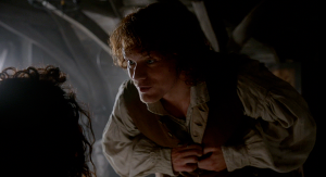 Outlander 1x07 The Wedding Claire and Jamie Morning After Sonya Heaney