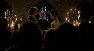 Outlander 1x07 The Wedding Jamie and Claire Church Sonya Heaney