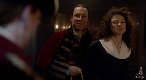 Outlander 1x08 Black Jack and Claire Sonya Heaney