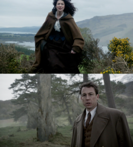 Outlander 1x08 Claire and Frank