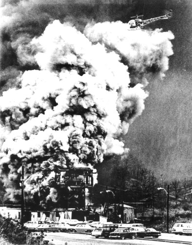 Farmington-Mine-Disaster-smoke.jpgThe Farmington Mine disaster took place on the 20th of November, 1968, in West Virginia, USA.