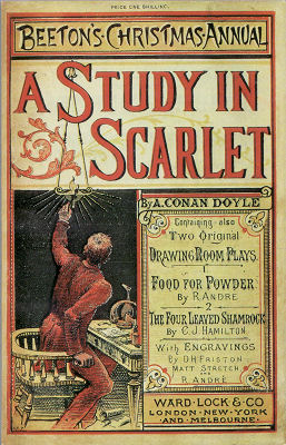 Published in England between 1860 and 1898, Beeton's Christmas Annual introduced Arthur Conan Doyle's Sherlock Holmes in 1887.