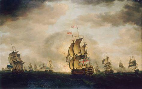 800px-Holman,_Cape_St_VincentBattle of Cape St. Vincent 16th January 1780