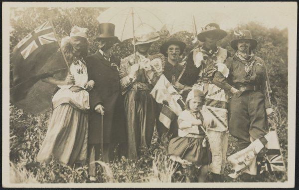 Australia Day approximately 1915