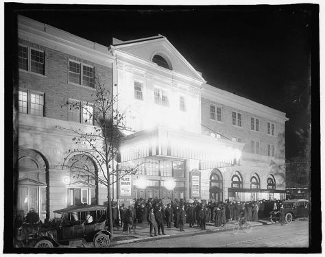 Knickerbocker Theatre in October 1917