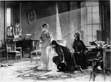 Queen Victoria receiving the news of her accession to the throne, 20 June 1837.