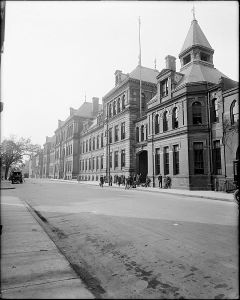 1920 English High School Boston October