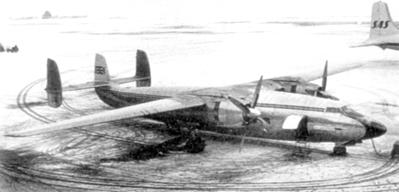 Airspeed Ambassador G-ALZU At Munich Before Accident
